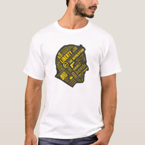 Ron Paul Libertarian Abstract Thought Shirt