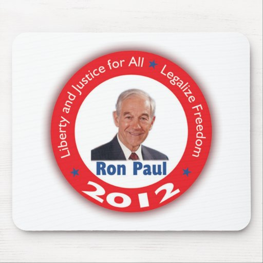 Ron Paul: Liberty and Justice for ALL Mouse Pads