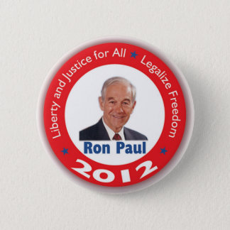 Ron Paul: Liberty and Justice for ALL Pinback Button