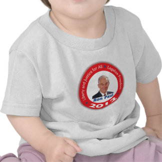 Ron Paul Liberty and Justice for ALL T Shirt