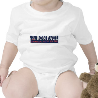 Ron Paul Liberty and Justice for ALL Bodysuits
