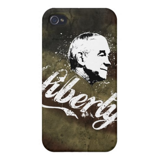 Ron Paul Liberty Covers For iPhone 4