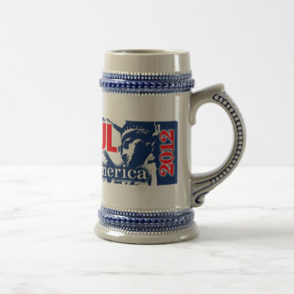 Ron Paul Liberty for America 2012 Beer Stein