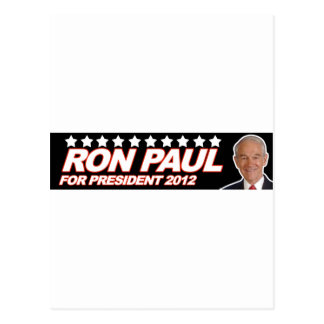 Ron Paul los E.E.U.U. 2012 - voto del presidente d Tarjetas Postales
