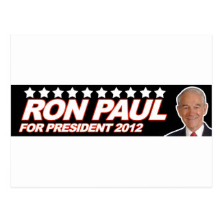 Ron Paul los E.E.U.U. 2012 - voto del presidente d Postales