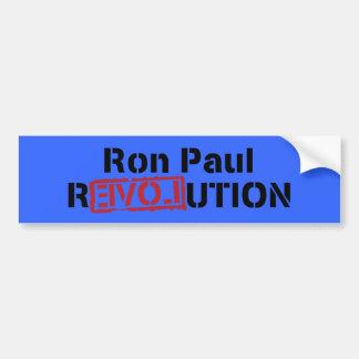 ron paul love revolution car bumper sticker