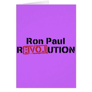ron paul love revolution card