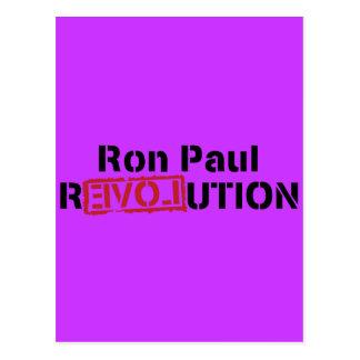 ron paul love revolution postcard