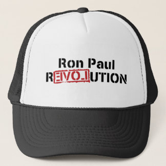 ron paul love revolution trucker hat