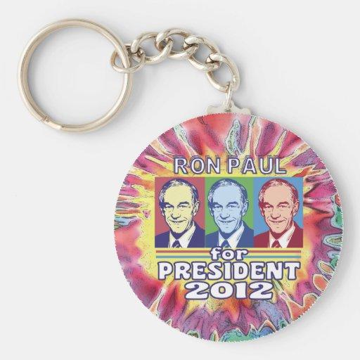 Ron Paul maravilloso para el presidente Llaveros