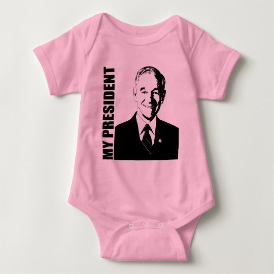 Ron Paul - My President Baby Bodysuit