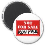 ¡Ron Paul no está PARA LA VENTA!!! Imán