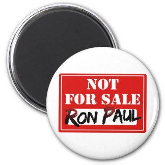 ¡Ron Paul no está PARA LA VENTA!!! Imán Redondo 5 Cm