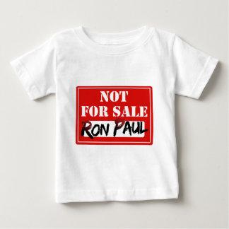 ¡Ron Paul no está PARA LA VENTA!!! Playera De Bebé