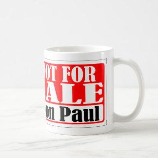 Ron Paul no para la taza de la venta