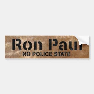 Ron Paul No Police State Bumper Sticker