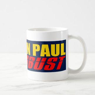 Ron Paul o BUSTO Taza Clásica