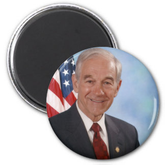 Ron Paul Official Photo Refrigerator Magnet
