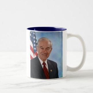 Ron Paul Official Photo Two-Tone Coffee Mug