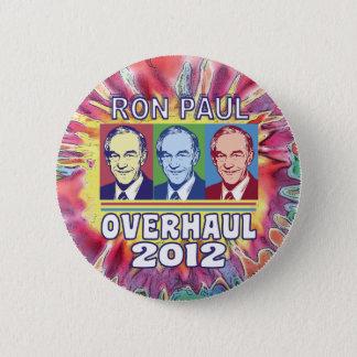 Ron Paul Overhaul 2012 Button