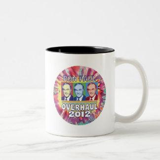 Ron Paul Overhaul 2012 Two-Tone Coffee Mug