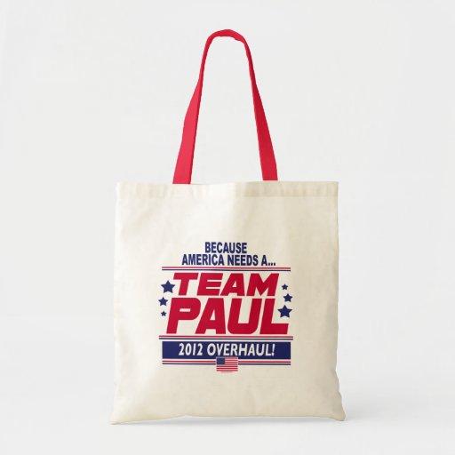 Ron Paul Overhaul Budget Tote Bag