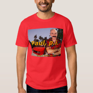 Ron Paul P.I. Episode9: 'Busting the fed' Tshirts