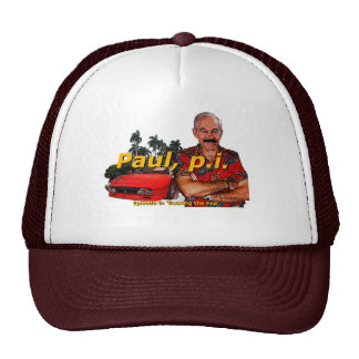 Ron Paul P.I. Episode 9: 'Busting the fed' trucker Trucker Hat