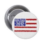 Ron Paul para el botón del presidente 2012 campaña Pin