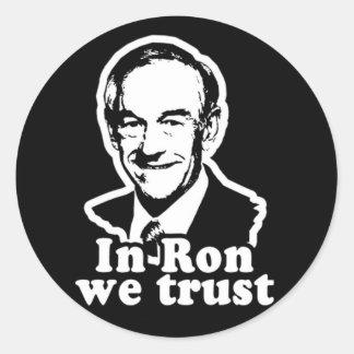 Ron Paul para el pegatina del presidente 2012