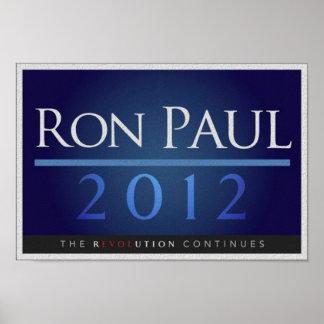 Ron Paul para el poster del presidente 2012 campañ