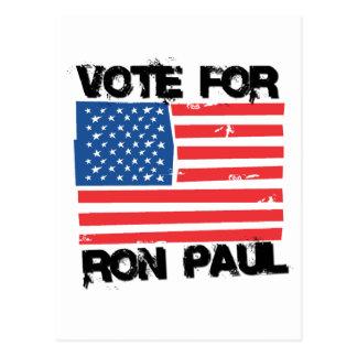 Ron Paul para el presidente (14) Tarjeta Postal
