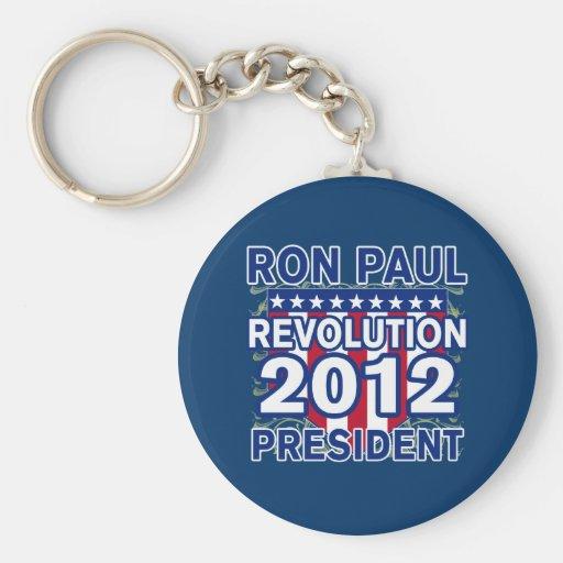 Ron Paul para el presidente 2012 camisetas Llaveros Personalizados