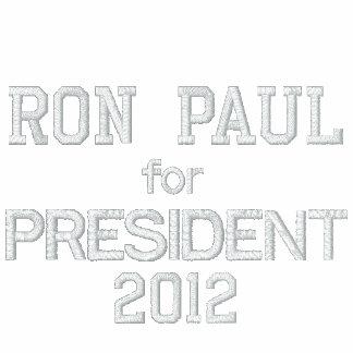 RON PAUL PARA el PRESIDENTE 2012 Chaqueta-Hombre-R