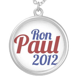 Ron Paul para el presidente 2012 Colgante Redondo