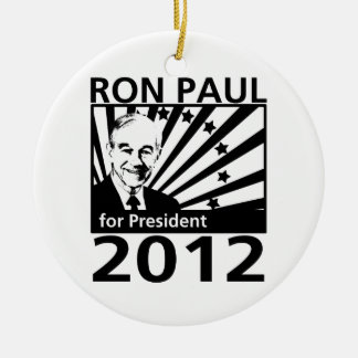 Ron Paul para el presidente 2012 Ornamentos De Reyes Magos