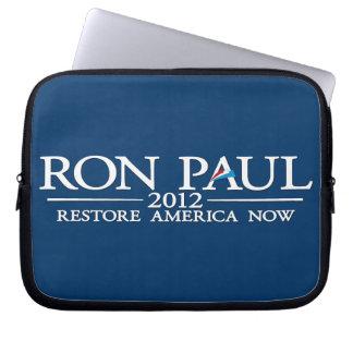 Ron Paul para el presidente 2012 Funda Portátil