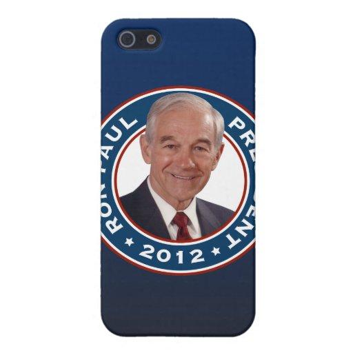 Ron Paul para el presidente 2012 iPhone 5 Coberturas