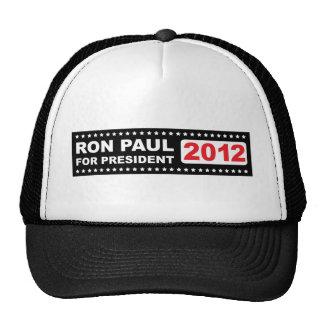 Ron Paul para el presidente 2012 Gorra