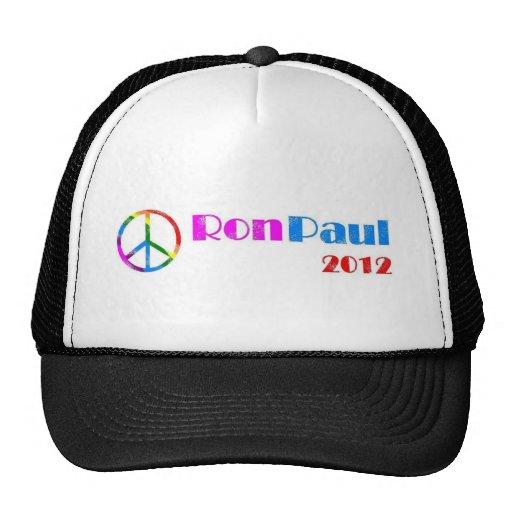 Ron Paul para el presidente 2012 Gorro De Camionero