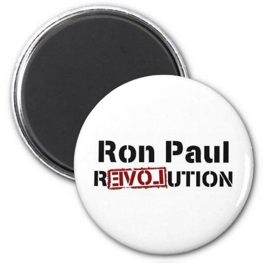 Ron Paul para el presidente 2012 Imanes De Nevera
