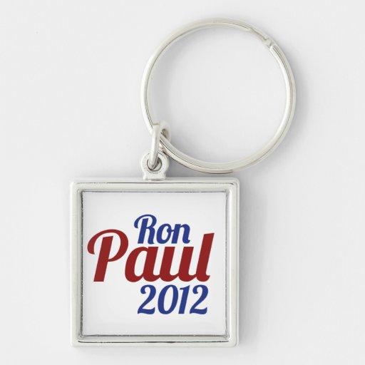 Ron Paul para el presidente 2012 Llavero
