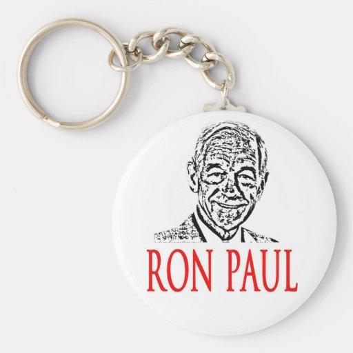 Ron Paul para el presidente 2012 Llavero Personalizado