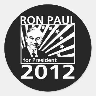 Ron Paul para el presidente 2012 Pegatinas
