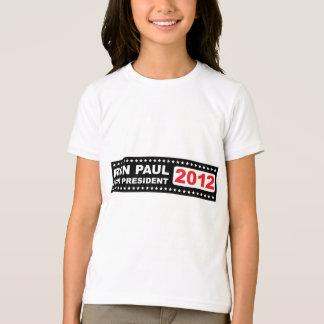 Ron Paul para el presidente 2012 Playera