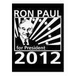 Ron Paul para el presidente 2012 Postales