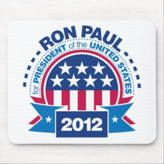 Ron Paul para el presidente 2012 Alfombrillas De Raton