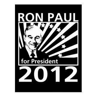 Ron Paul para el presidente 2012 Tarjeta Postal
