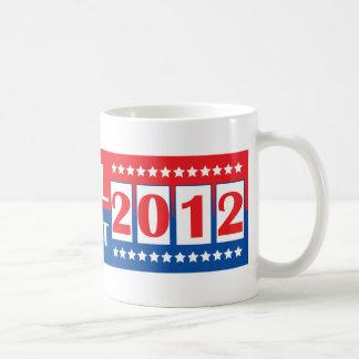 Ron Paul para el presidente 2012 Taza Básica Blanca