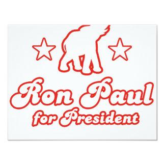 Ron Paul para el presidente (4) Invitación Personalizada